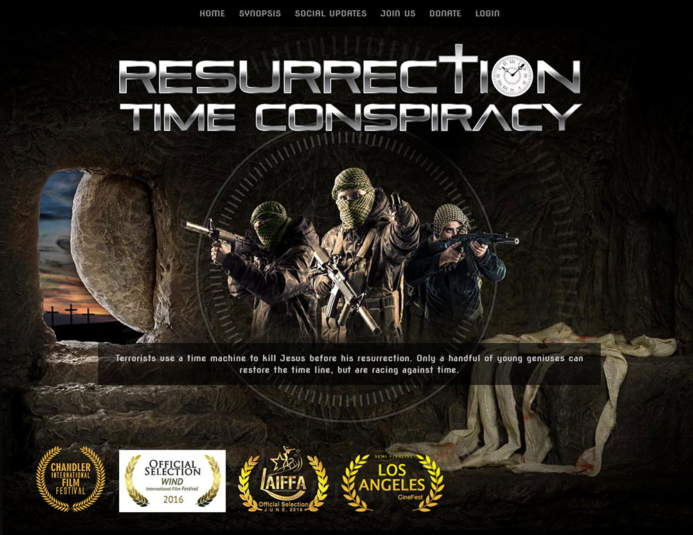 Resurrection Time Conspiracy – New Film Website!